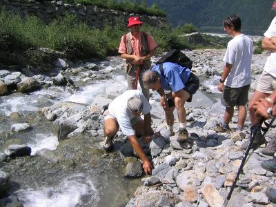 L'eau en questions aux Houches ©OT Les Houches