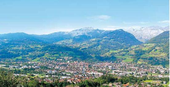 La vallée de l'Arve © Crédit agricole des Savoie/Fotolia