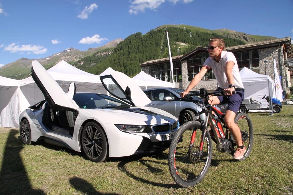 Salon du véhicule électrique de Val d'Isère ©Benoît Launay