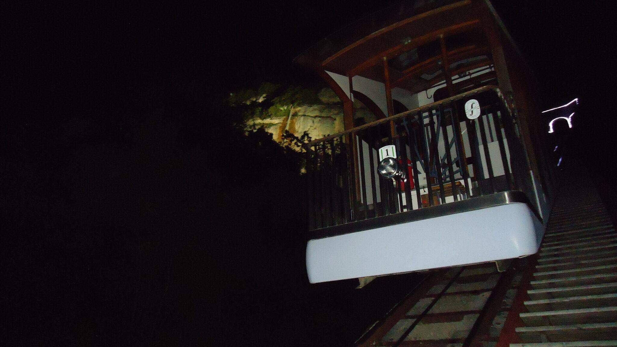 Le funiculaire by night, une ambiance différente pour découvrir la vallée et les sommets de Belledonne et de la Chartreuse