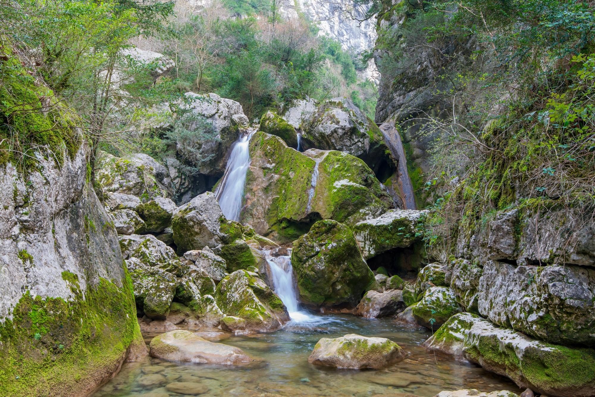 Les gorges du Nan dans le Vercors, l'un des sites naturels sensibles de l'Isère © F.Pattou