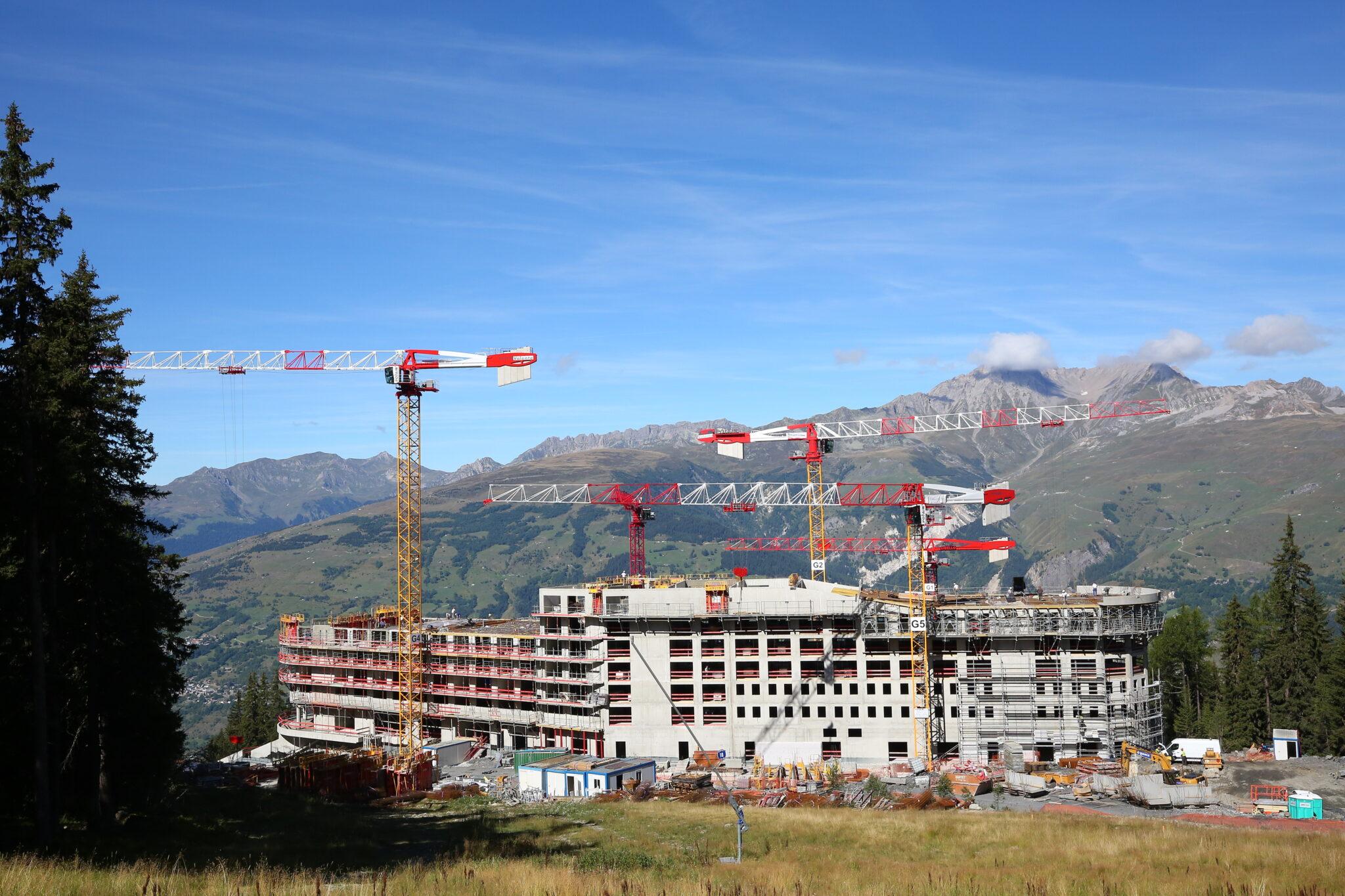 La Foncière des Alpes fait partie du tour de table du futur Club Med Arc 1600 © Club Med