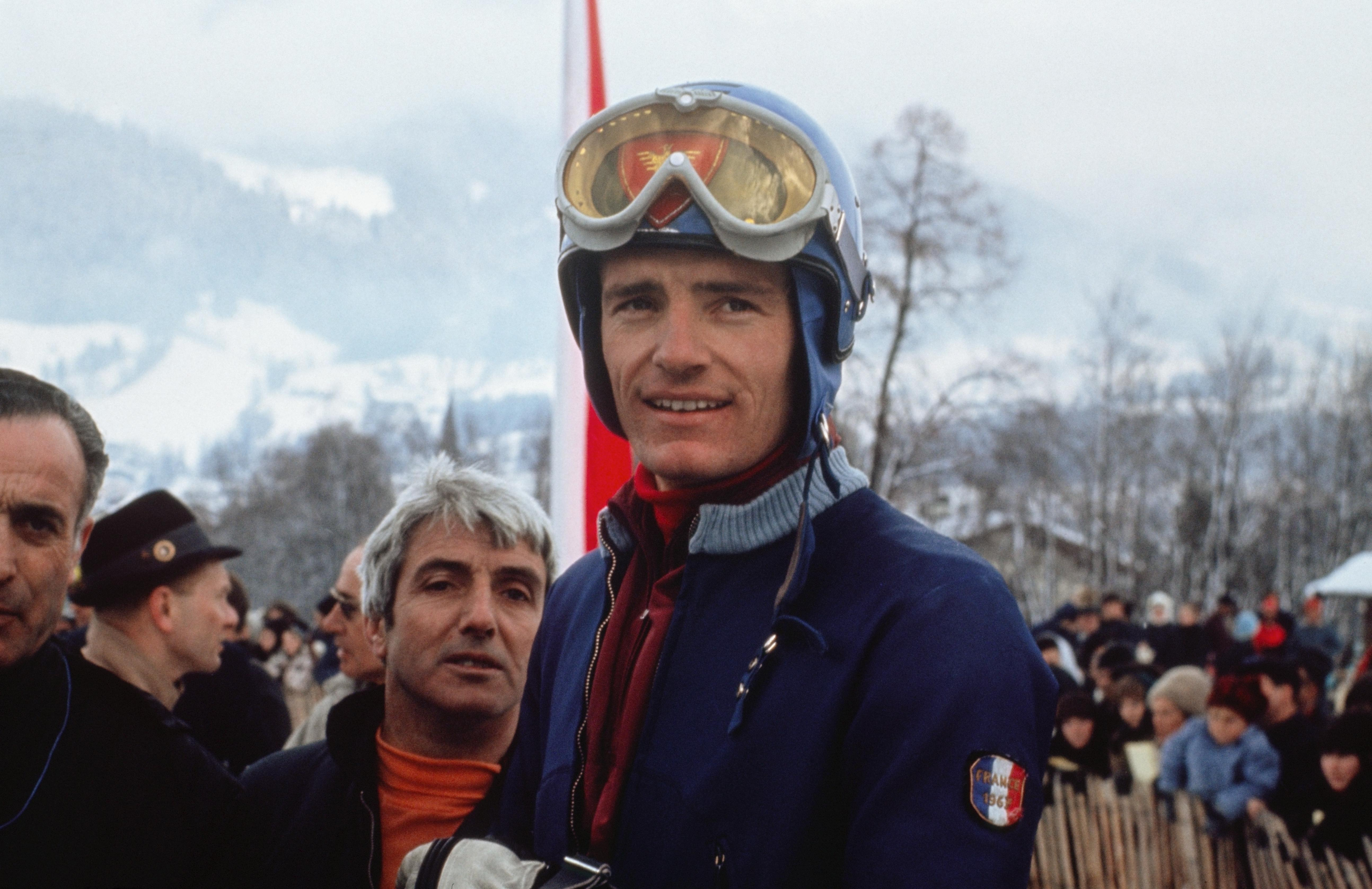 A Chamrousse, Jean-Claude Killy un héros national ! © 1968 / Comité International Olympique (CIO) / United Archives