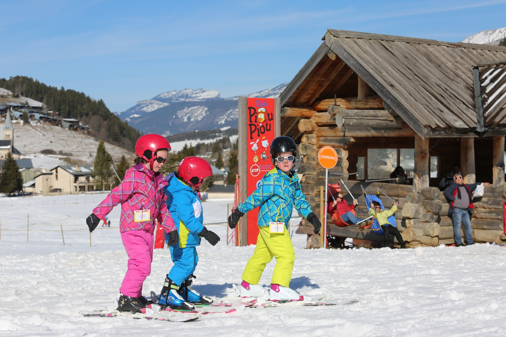 Le domaine des Rambins, un havre de paix pour apprendre à skier ! ©Stéphanie Charles/OT Villard-de-Lans