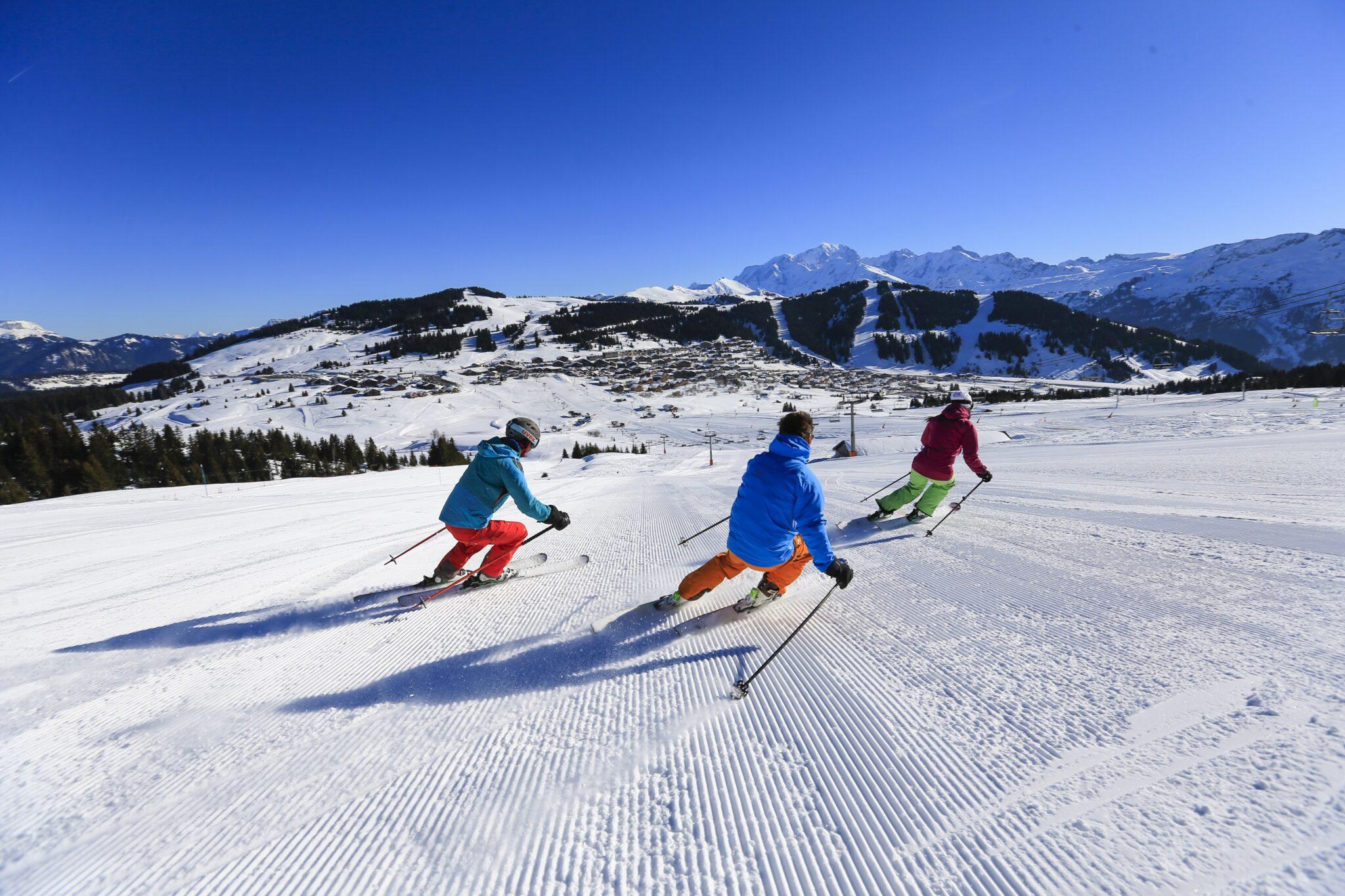 Le domaine skiable des Saisies © Monica Dalmasso