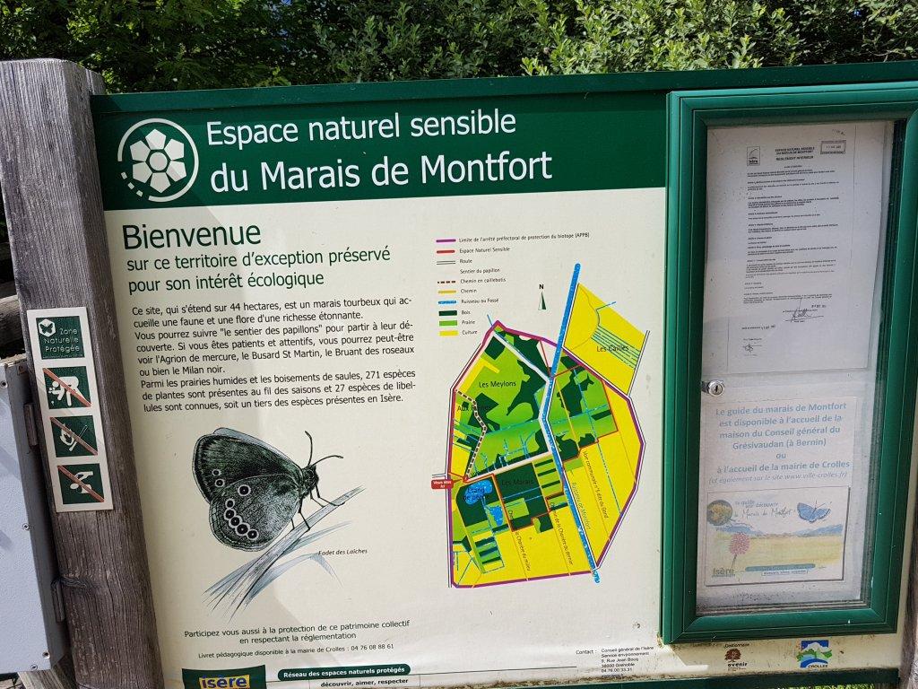 Les personnes à mobilité réduite peuvent désormais faire le tour du marais de Montfort