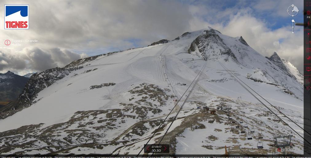 Ouverture Reportee Pour Le Glacier De Tignes Actumontagne