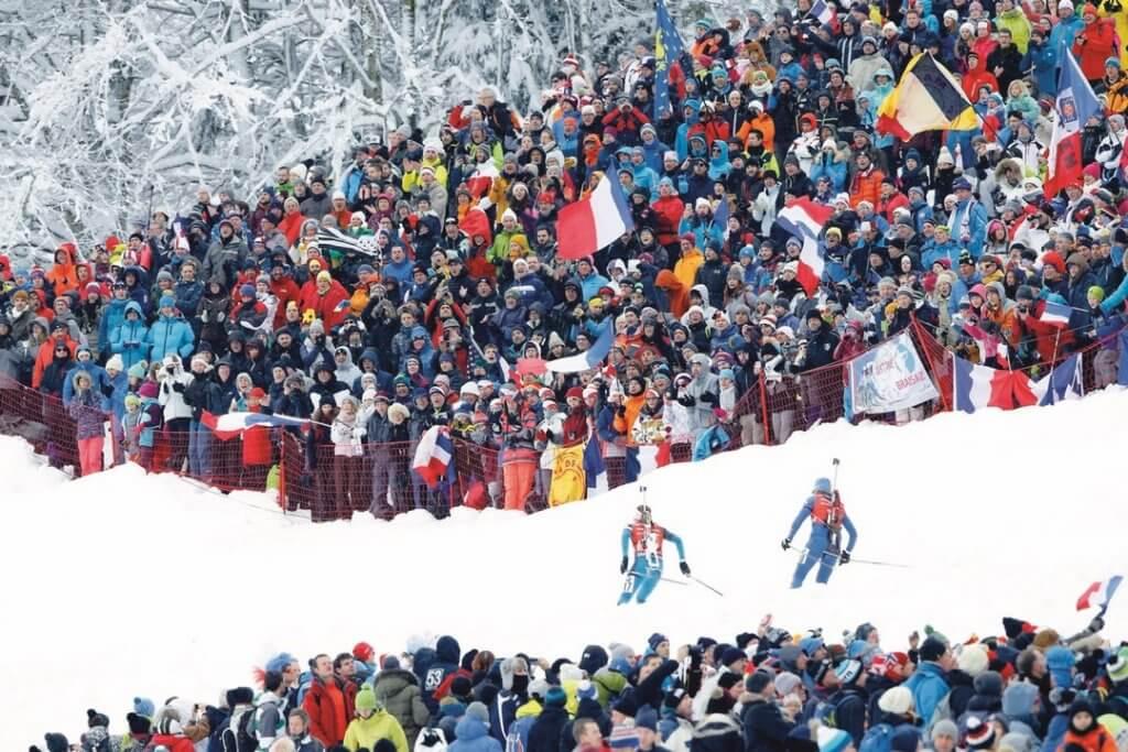 coupe du monde, biathlon, Le Grand Bornand