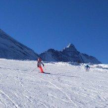 Tignes, ski, glacier de la Grande Motte