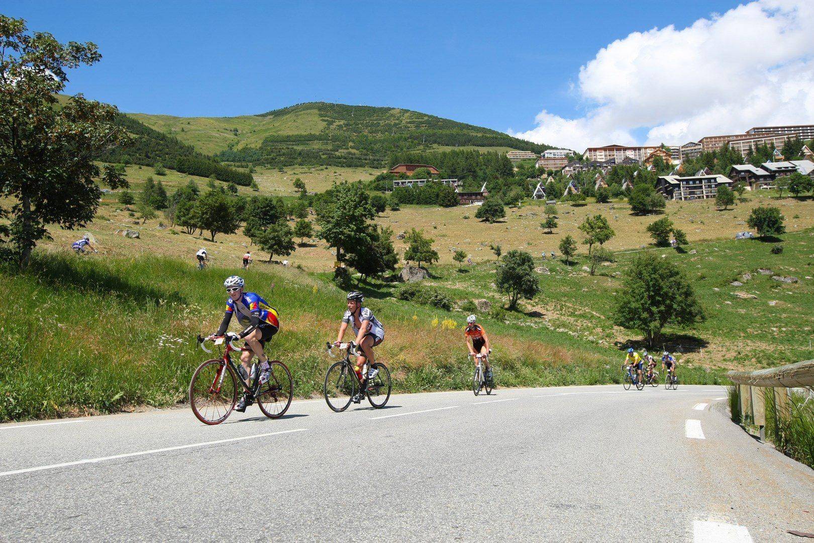 cyclistes alpe d huez