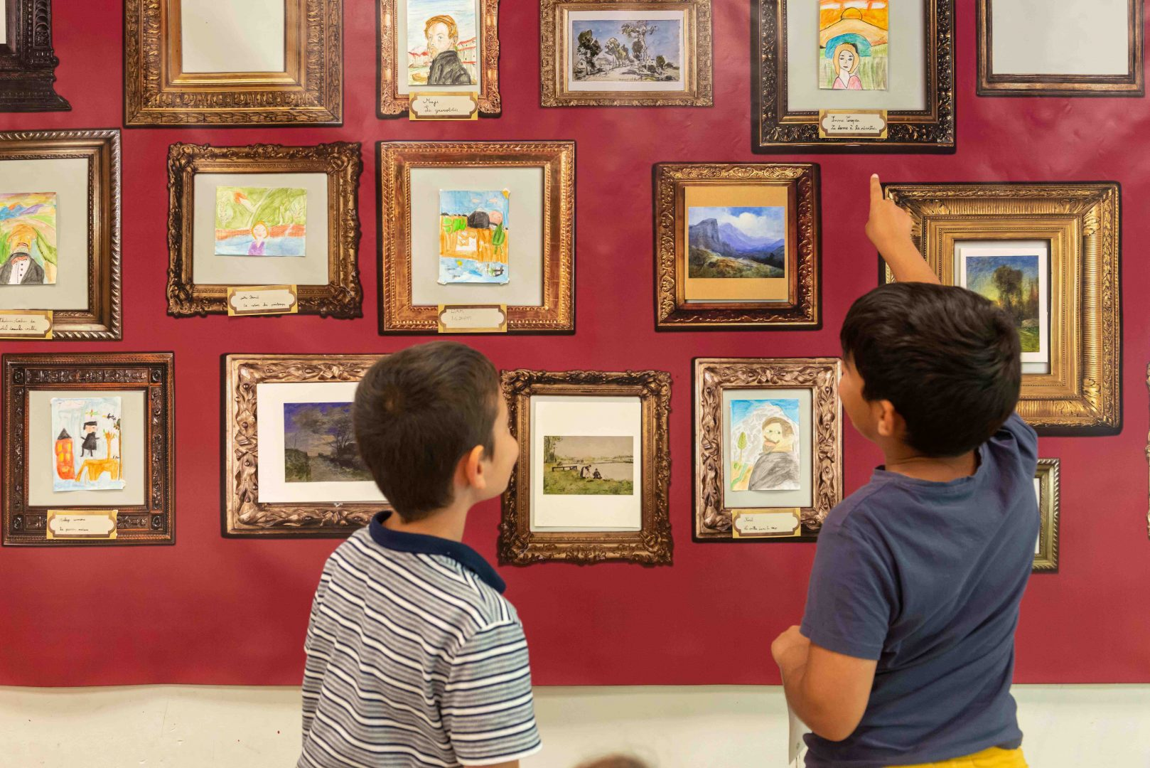 Musée de Grenoble - enfants