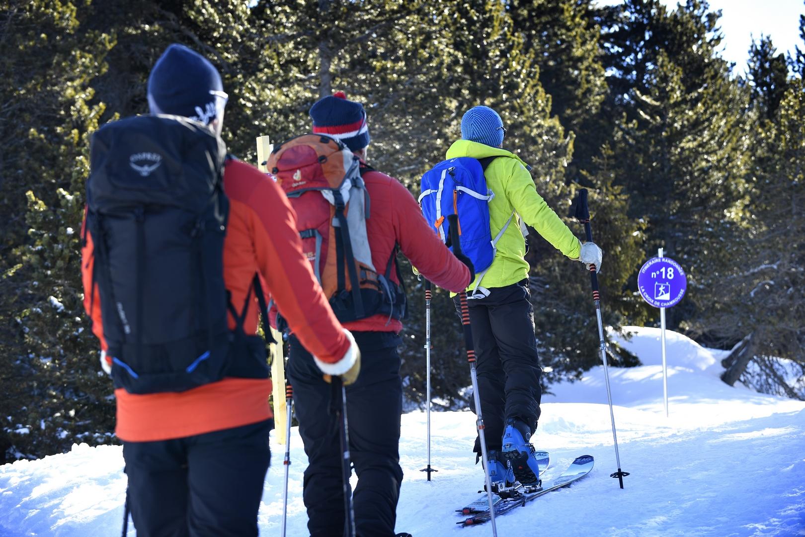 "Ski touring ""tailored"" within the resorts"
