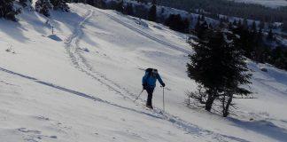 ski de rando lans en vercors