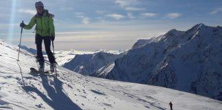 ski de randonnee les clottous col dornon