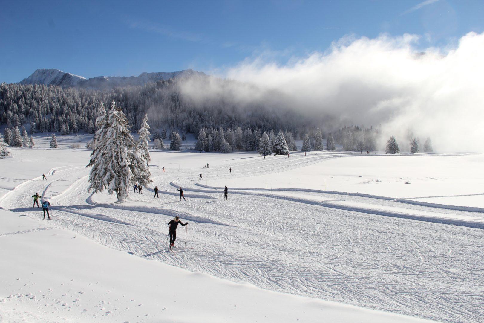 plateau de l arselle chamrousse ski de fond
