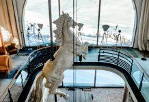 statue cheval cucucina la folie douce