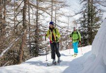 ski de rando la plagne