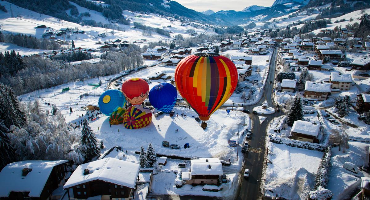 montgolfiere praz sur arly