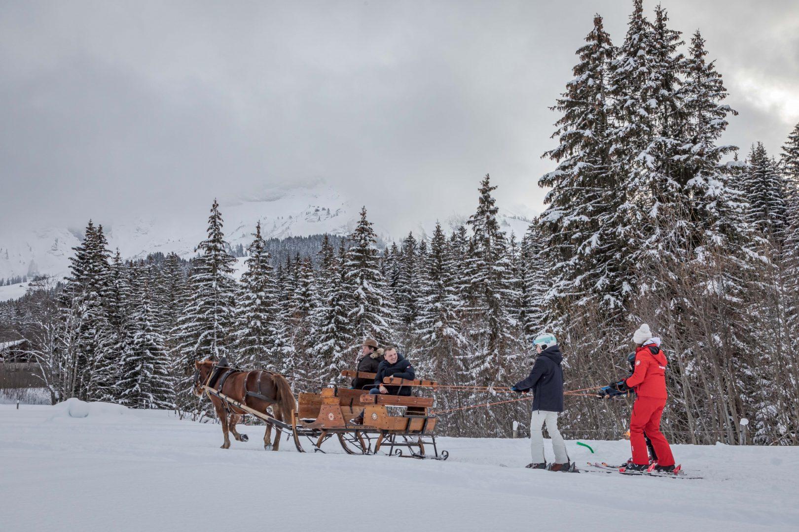 ski joering megeve