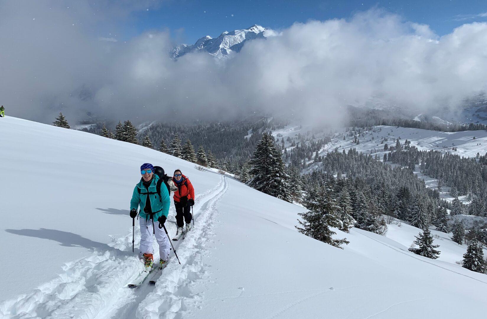 ski de rando sallanches