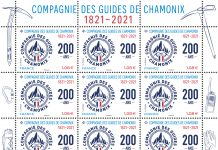 timbres compagnie des guides chamonix