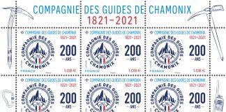 timbres compagnie des guides chamonix