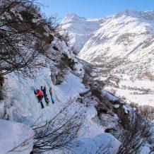 cascade de glace bonneval sur arc