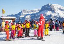 cours de ski enfants megeve