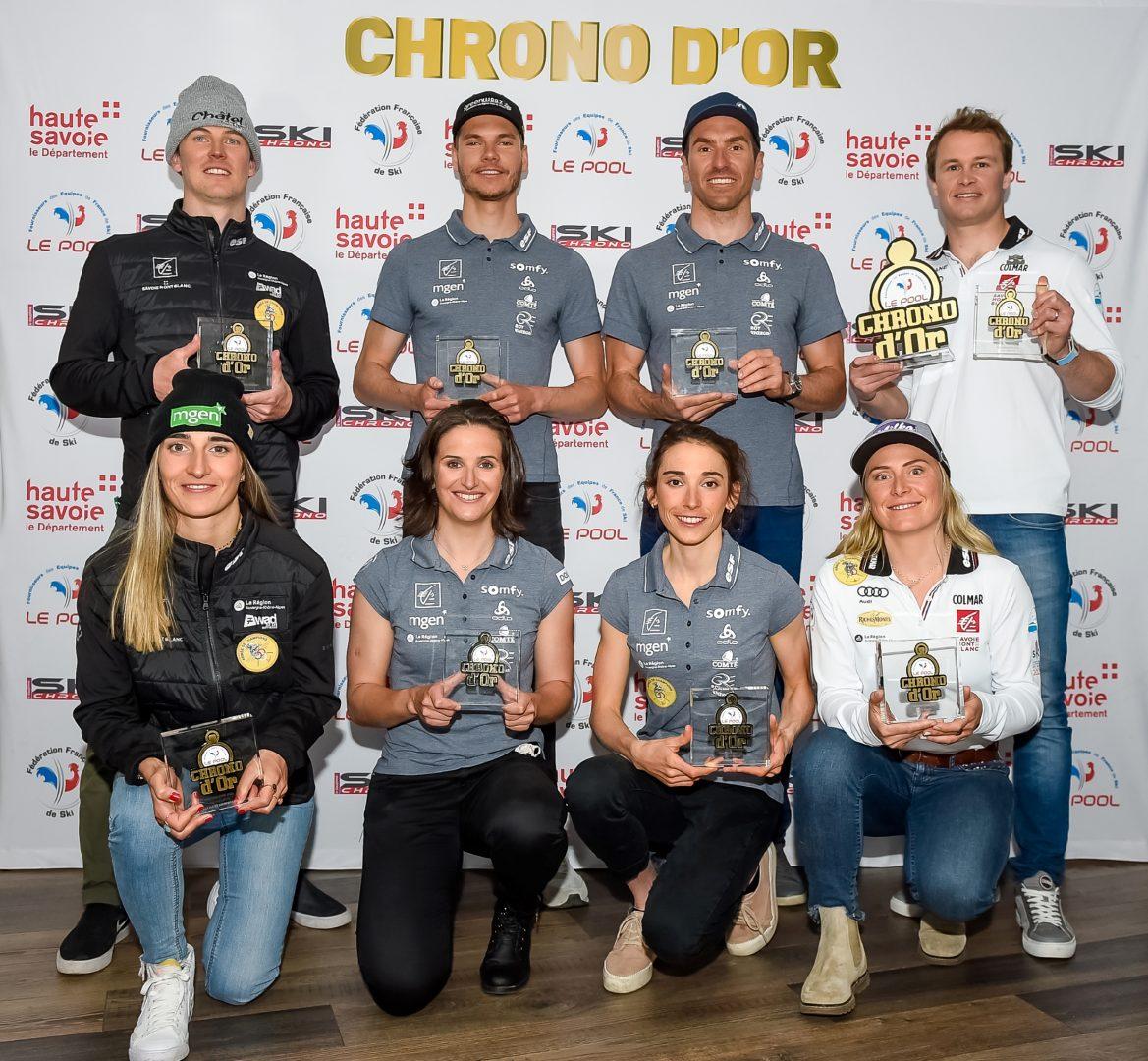 athletes primes chrono d or