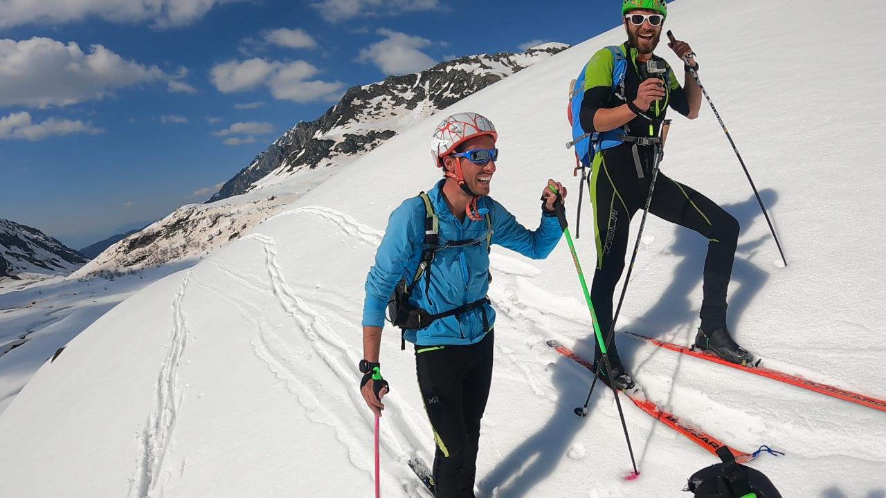 skieurs grand crozet